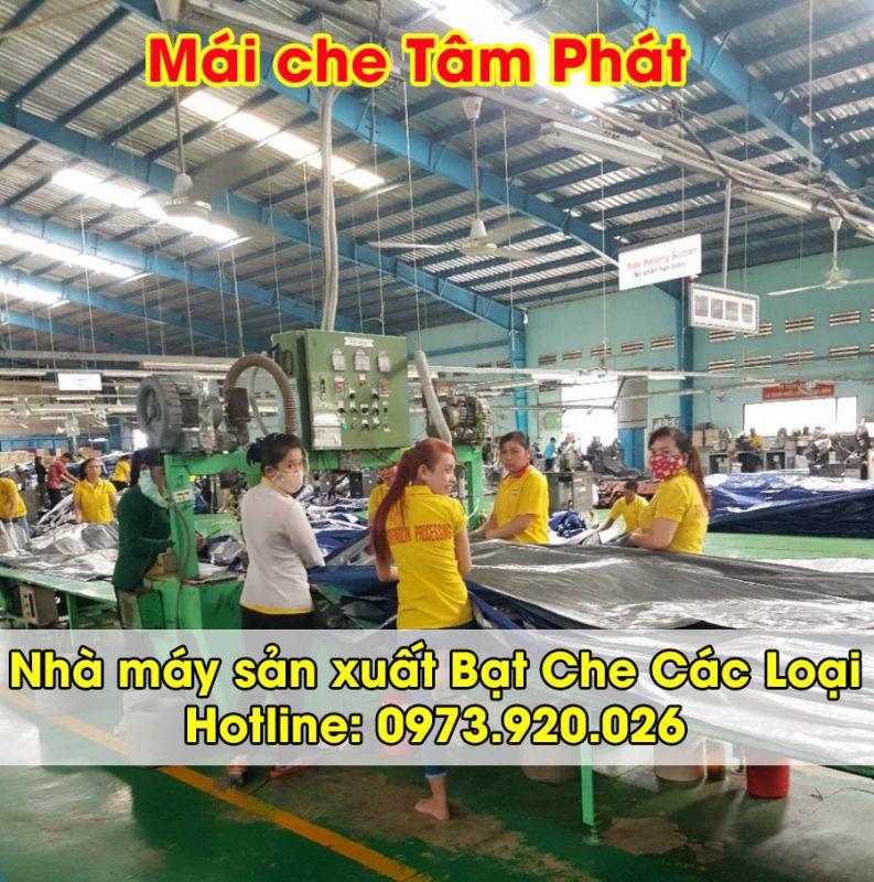 nhà xưởng sản xuất bạt nhựa các loại