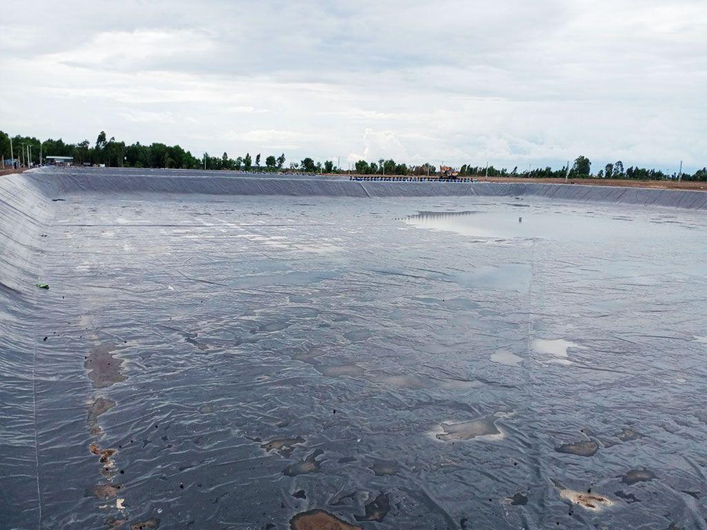 Bạt nhựa HDPE lót hồ nuôi tôm